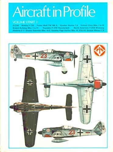 Aircraft in Profile, Vol. 1