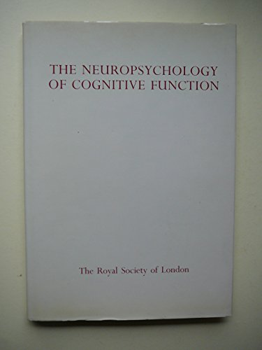 Neuropsychology of Cognitive Function