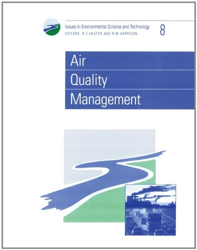Air Quality Management By Edited by R. E. Hester