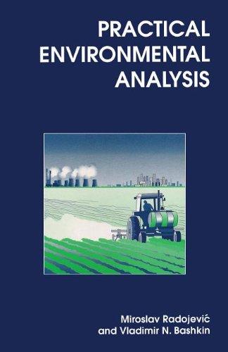 Practical Environmental Analysis By M. Radojevic
