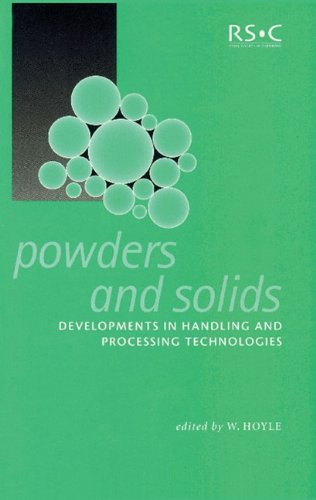 Powders and Solids By W Hoyle