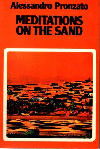 Meditations on the Sand By Alessandro Pronzato