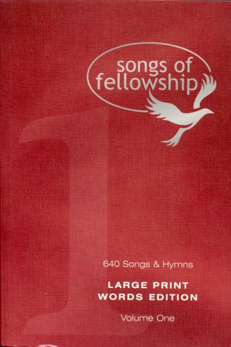 Songs of Fellowship By Songs Of Fellowship