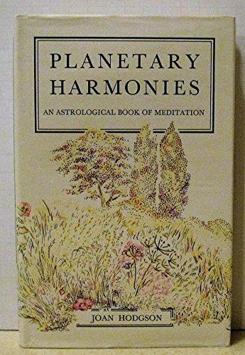 Planetary Harmonies By Joan Hodgson