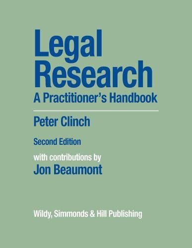 Legal Research By Peter Clinch