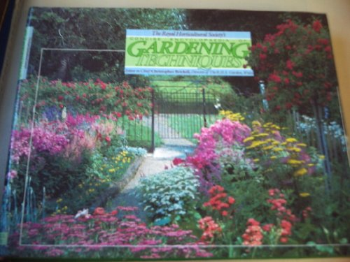 Royal Horticultural Society Concise Encyclopaedia of Gardening Techniques By Christopher Brickell