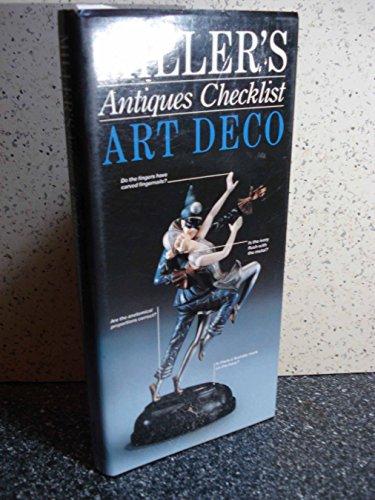 Miller's Antiques Checklist Art Deco. By Judith Miller