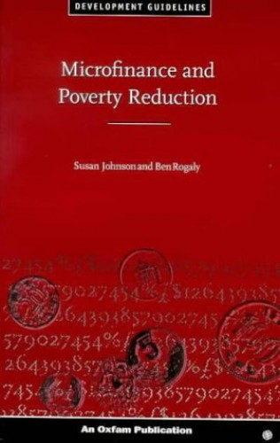 Microfinance and Poverty Reduction By Susan Johnson