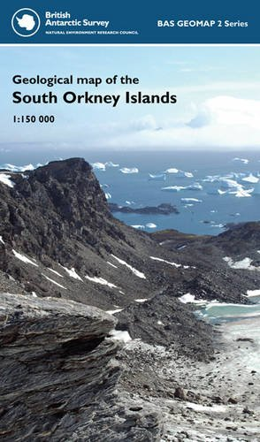 Geological Map of the South Orkney Islands By Michael Flowerdew