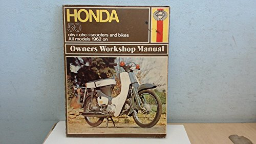 Honda 50 Owner's Workshop Manual By Jeff Clew
