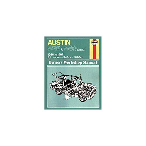 Austin A35/A40 Owner's Workshop Manual By J. H. Haynes
