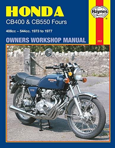 Honda CB400 & CB550 Fours (73 - 77) By Haynes Publishing