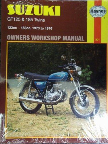 Suzuki 125 and 185 Twins Owner's Workshop Manual by Stewart W. Wilkins