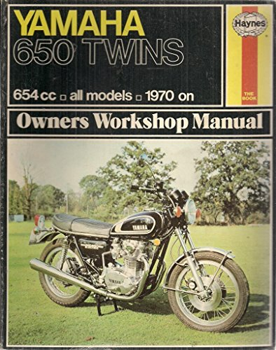 Yamaha 650 Twin Owners Workshop Manual by Pete Shoemark
