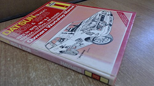 Datsun 160B and 180B Owner's Workshop Manual (Haynes Owners Workshop Manual Series) By Bruce Gilmour