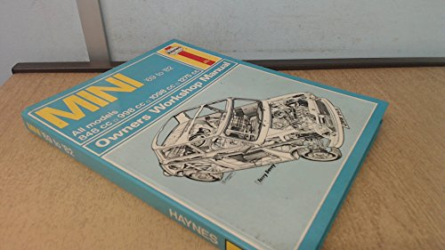 Mini 1969 to 1982 Owner's Workshop Manual (Haynes) By B.L.Chalmers- Hunt