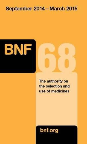 British National Formulary (BNF) 68 By Joint Formulary Committee