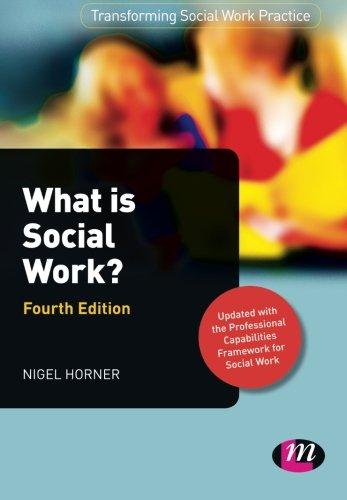 What is Social Work? By Nigel Horner