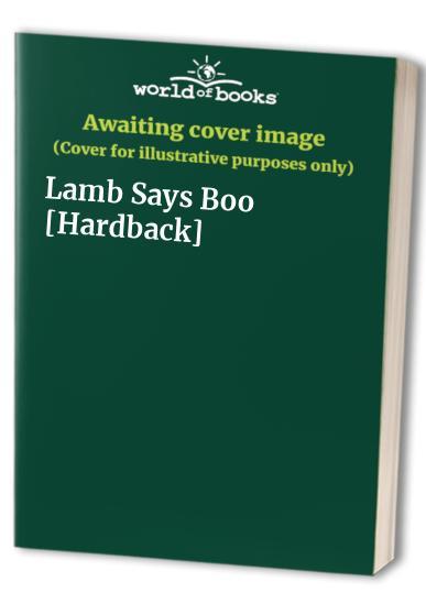 Lamb Says Boo [Hardback]