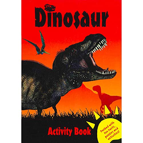 Dinosaur Activity Book Red By Na