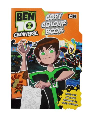 Alligator Books Ben 10 Copy Colour
