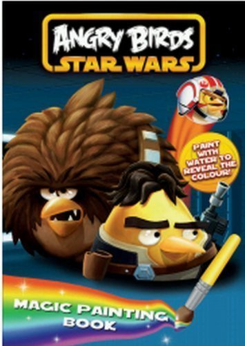 Angry Birds Star Wars: Magic Painting Book