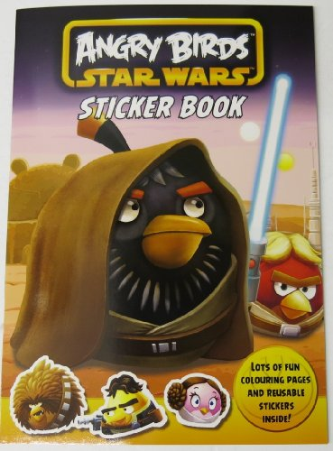 Angry Birds Star Wars sticker book (and colouring book in 1)