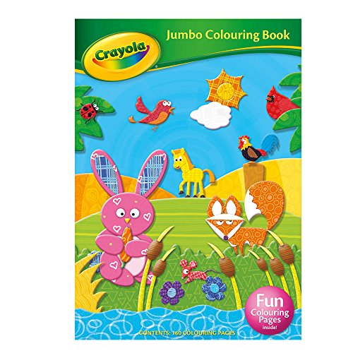 Crayola Jumbo Colouring Book By ALLIGATOR