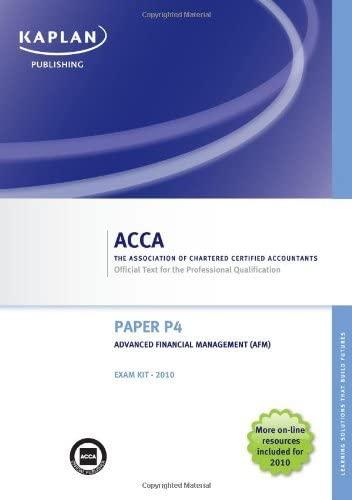 f9 financial management dec 2007