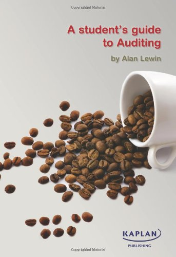 A Student's Guide to Auditing by Alan Lewin