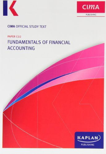 C02 Fundamentals of Financial Accounting - Study Text By Cima