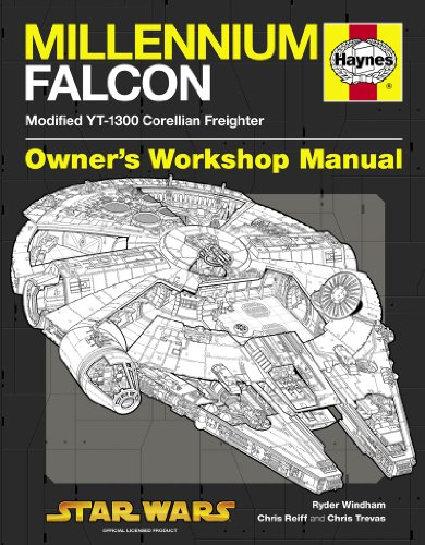 Millennium Falcon Manual: 1977 Onwards (Modified YT-1300 Corellian Freighter) (Owners Workshop Manual) By Ryder Windham