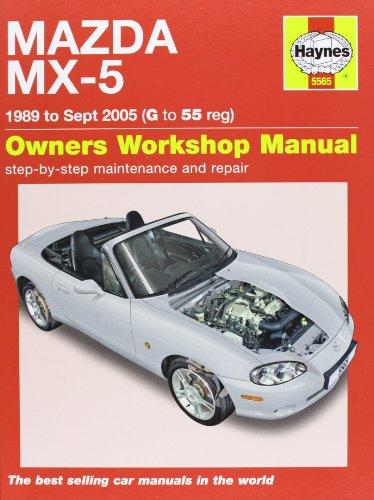Mazda MX-5 Service and Repair Manual: 1989-2005 (Haynes Service and Repair Manuals) By Martynn Randall