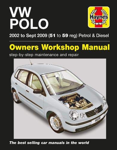 VW Polo Petrol & Diesel (02 - Sept 09) Haynes Repair Manual By R. M. Jex
