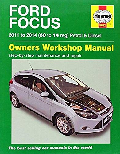 Ford Focus Petrol & Diesel (11 - 14) 60 To 14 By M. R. Storey