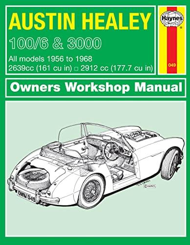 Austin Healey 100 Owners Workshop Manual By Haynes Publishing