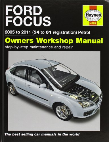 Ford Focus Petrol Service and Repair Manual By Martynn Randall