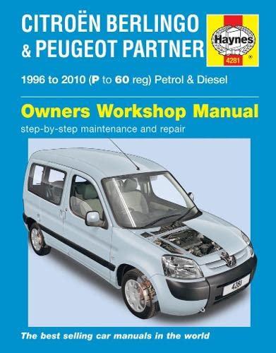 Citroen Berlingo & Peugeot Partner By Haynes Publishing