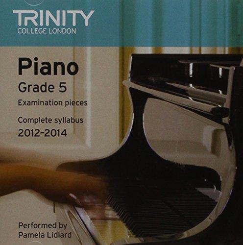 Piano CD Grade 5 2012-14 (Trinity Piano Examinations) By P Lidiard