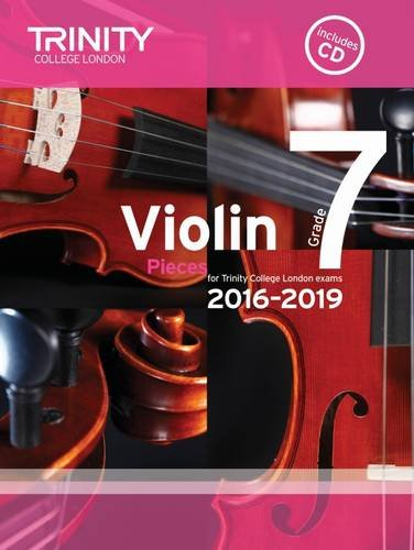 Violin Exam Pieces Grade 7 2016-2019 By Trinity College London