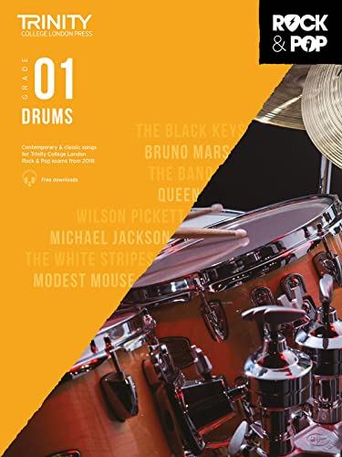 Trinity College London Rock & Pop 2018 Drums Grade 1 CD Only By By (artist)
