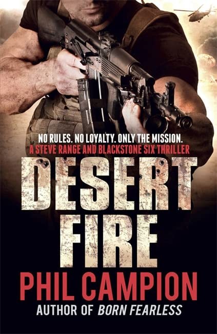 Desert Fire by Phil Campion