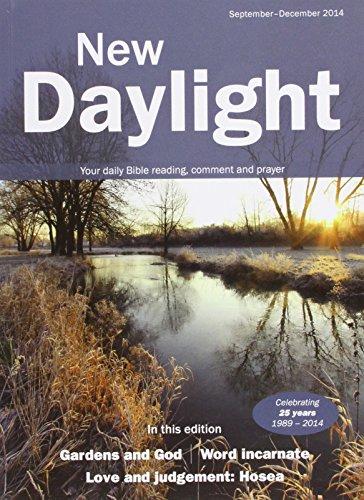 New Daylight September - December 2014 By Naomi Starkey