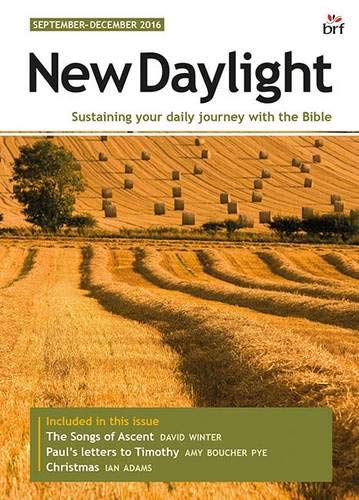 New Daylight September-December 2016 By Sally Welch