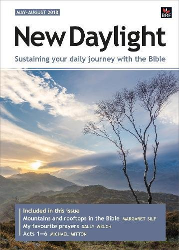 New Daylight May-August 2018 By Sally Welch