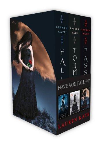 Lauren Kate 3 Book Boxset (Fallen, Torment and Passion) By Lauren Kate