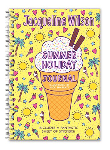 My Summer Holiday Journal By Jacqueline Wilson