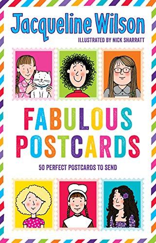 Jacqueline Wilson: Fabulous Postcards By Jacqueline Wilson