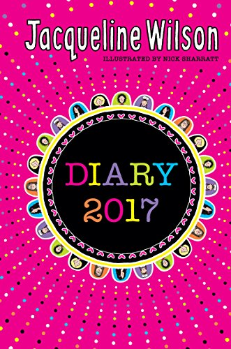 The Jacqueline Wilson Diary 2017 by Jacqueline Wilson