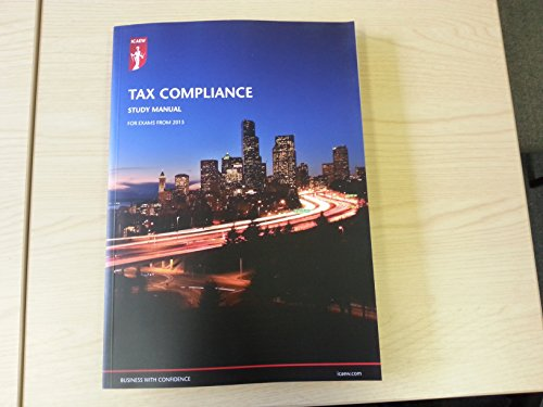 ICAEW: TAX COMPLIANCE STUDY MANNUAL 2015 By Nill